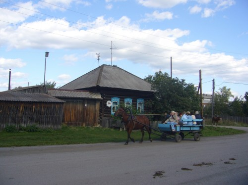 Koptelovo village, The Urals, Russia